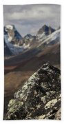 Mount Monolith From Grizzly Lake Bath Towel