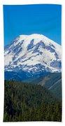 Mount Rainier Bath Towel