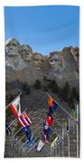 Mount Rushmore National Memorial Bath Towel