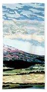 Mount Shasta California Hand Towel
