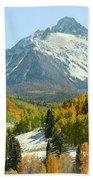 Mount Sneffels In Ridgway Colorado Bath Towel