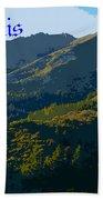 Mount Tamalpais 2013 Bath Towel