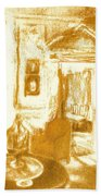 Mount Vernon In Golden Light Bath Towel