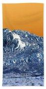 Mountain Abstract  Bath Towel
