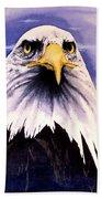 Mountain Bald Eagle Bath Towel