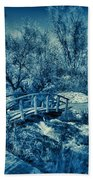 Mountain Creek Path-sundance Utah V2 Bath Towel