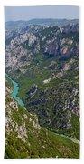 Mountain Gorge Bath Towel