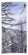 Mountain Landscape Hand Towel