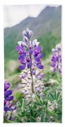 Mountain Lupine Bath Towel