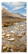 Mountain Stream From Beinn Eighe Bath Towel