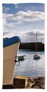 Mousehole Harbour On A May Morning Bath Towel