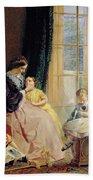 Mrs Hicks Mary Rosa And Elgar Bath Towel