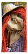 Ms Scarecrow Bath Towel