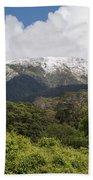 Mt. Aspiring National Park Mountains Bath Towel