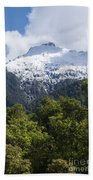 Mt. Aspiring National Park Peaks Bath Towel
