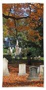 Mt Auburn Cemetery 12 Bath Towel