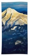 Mt. Hood From Above Bath Towel