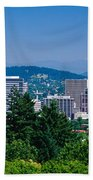 Mt Hood Portland Oregon Usa Bath Towel
