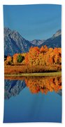Mt. Moran Reflection Bath Towel