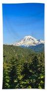 Mt Rainier Bath Towel