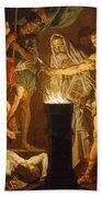 Mucius Scaevola In The Presence Of Lars Porsenna Bath Towel