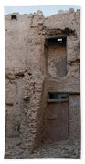 Mud Brick Village Bath Towel
