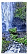 Mulnomah Falls Bath Towel