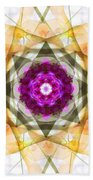 Multi Flower Abstract Hand Towel