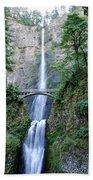 Multnomah Falls Bath Towel