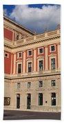 Musikverein Gesellschaft Der Musikfreunde Building Vienna Austria Bath Towel