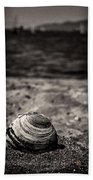 Mussel On The Beach Bath Towel