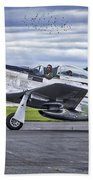 Mustang P51 Bath Towel