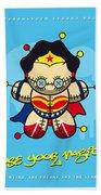 My Supercharged Voodoo Dolls Wonder Woman Hand Towel