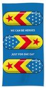 My Superhero Pills - Wonder Woman Bath Towel