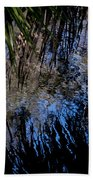 Myakka River State Park Reflections Sarasota Florida Usa Bath Towel