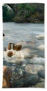 Mystic River II Bath Towel