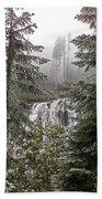 Narada Fall Mt Rainier II Bath Towel