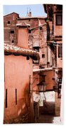 Narrow Streets Of Albarracin  Bath Towel