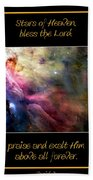 Nasa Ll Ori And The Orion Nebula Stars Of Heaven Bless The Lord Bath Towel