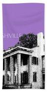 Nashville Skyline Belle Meade Plantation - Violet Bath Towel