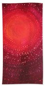 Native Sun Original Painting Bath Towel
