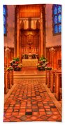 Nativity Of Our Lord Church Bath Towel