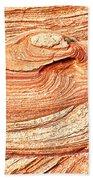 Natural Abstract Canyon De Chelly Bath Towel