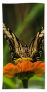 Nature Stain Glass Bath Towel