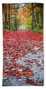 Nature's Red Carpet Bath Towel