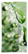 Nature's Teardrops Bath Towel