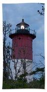 Nauset Lighthouse Amid The Scrub Pines Bath Towel
