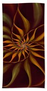 Nautilus Fractalus Tropical Bath Towel
