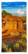 Navajo Hogan Canyon Dechelly Nps Bath Towel