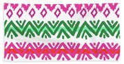 Navajo Mission Round Bath Towel